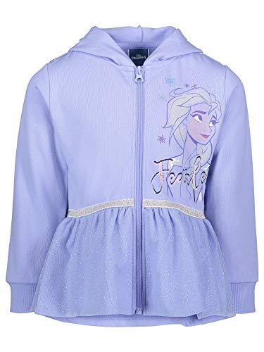 Disney Frozen Queen Elsa, Princess Anna Little Girls Costume Hoodie Blue 6-6X