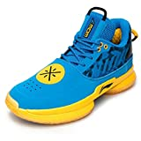 LI-NING Wow 7 Wade University Camo Men Profession Basketball Shoes Classic Sports Male Sneakers Blue ABAN079-35 US 9.5