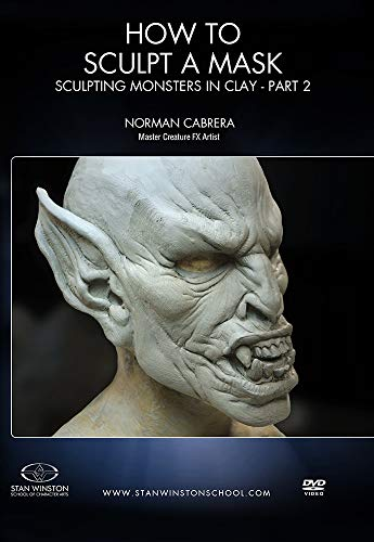 How to Sculpt a Mask: Sculpting Monsters in Clay Part 2