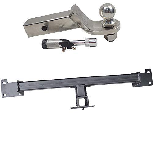 QQKLP El Enganche de Remolque-Receptor apropiado para los 4008 5008 3008 Receptor para Montaje Posterior Draw-Tite,A 5008,7 Style