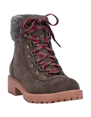 "Dingo Outdoor Boot Women Telluride Round Toe 5"" Shaft 10 M Olive DI120"
