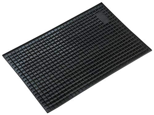 Walser Gummimatte Rechteck 41x28 cm schwarz