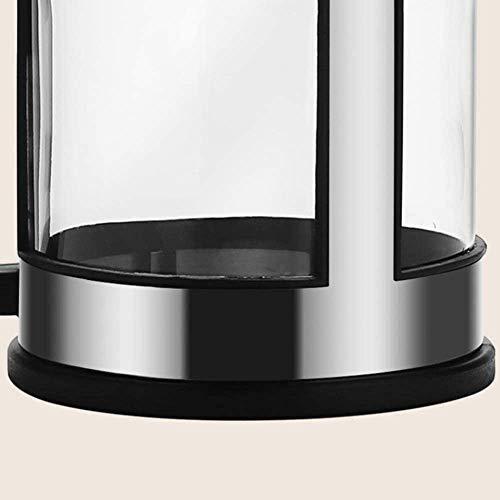 NCRD Francuski ekspres do kawy ze stali nierdzewnej 34 oz, prasa do kawy ze stali ze stali nierdzewnej, łatwy do czyszczenia wytrzymałego szkła odpornego na ciepło, biuro podróży