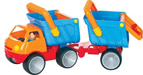 Gowi - 560-90 - Jouet D'éveil - Camion - Remorque avec Poignée