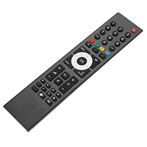 Cuque Mando a Distancia, Mando a Distancia Original de ABS Smart TV, Dormitorio Negro para TV