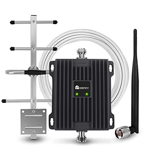 Handy-Signalverstärker GSM 4G LTE Verstärker 800/900 MHz Band 20/8 Signalverstärker für E-Plus O2 T-Mobile Vodafone - Mobilfunk-Repeater für Zuhause Büro - Verbessern Sie Sprachanrufe und Datensignale