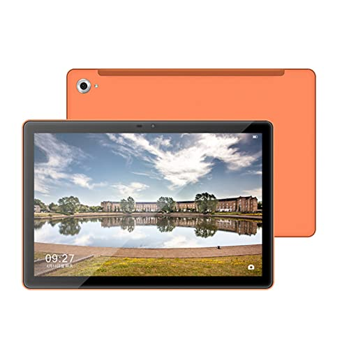 Tableta de 10 Pulgadas, Procesador Octa-Core, Android 10, 2GB RAM 32GB ROM, Pantalla IPS de 1028x800, Cámaras de 2MP + 5MP, Bluetooth 4.0, GPS, Naranja
