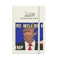 アメリカの大統領は、トランプの面白い画像 化学手帳クラシックジャーナル日記A 5