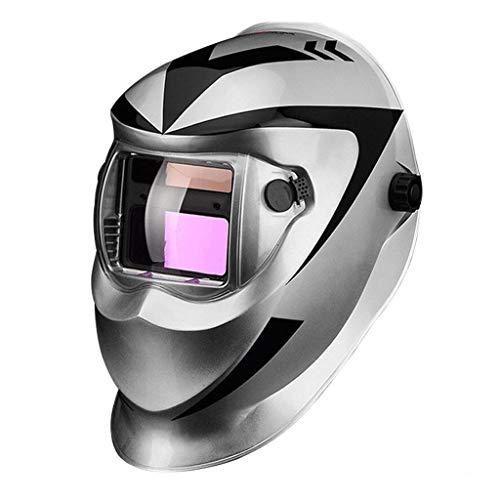JIE KE Automatisch Dimmen Lassen Masker Kop-gemonteerd Volledig Automatische Lasser Cap Argon Arc Lassen Bril Anti-UV 1