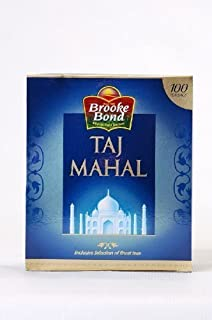 Brooke Bond Taj Mahal Black tea bags(100 count)