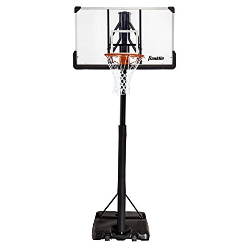 Franklin Sports Portable Basketball Hoop – Authentic Street...