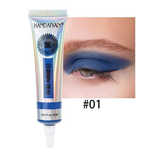 15ML Matte Color Eyeshadow Long Lasting Non-Fading Fard à Paupières Lait Multifonctionnel Paillettes Base Lotion Eye Make Up Eyeliner Lip maquillage rouge à lèvres rouge à lèvres sourcils