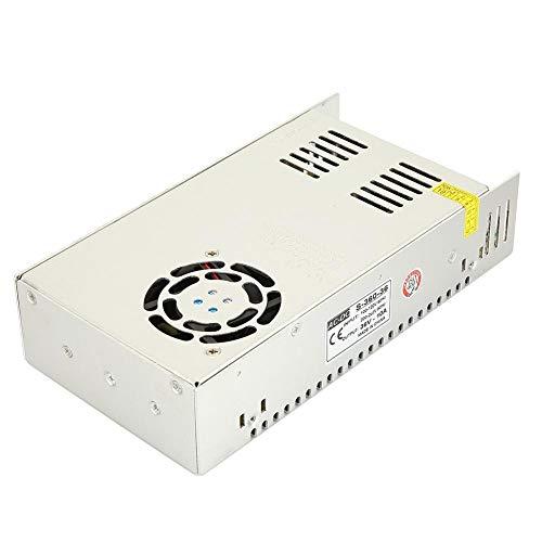 LED de fuente de alimentación con interruptor de cobre resistente a altas temperaturas, controlador de fuente de alimentación de conmutación de tira de 36 V CC de alta estabilidad,
