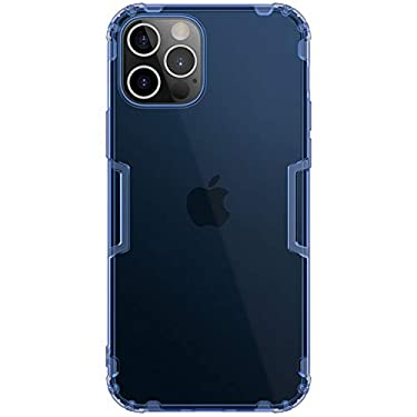 """Nillkin Case for Apple iPhone 12 Pro Max (6.7"""" Inch) Nature Series Back Soft Flexible TPU Blue Color"""