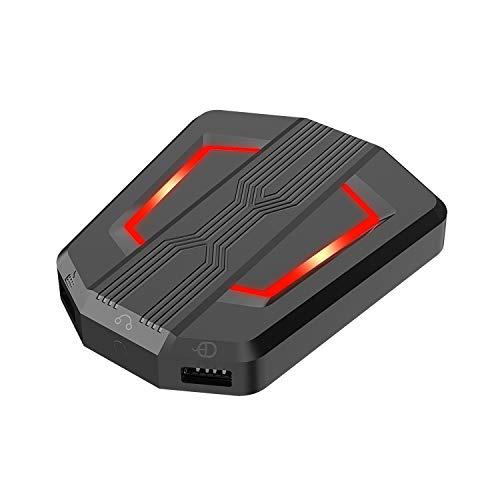Flytise P6 Adaptador convertidor de teclado y ratón Controlador de teclado de ratón Compatible con PS4 / P / / Xbox 360 / N-Switch