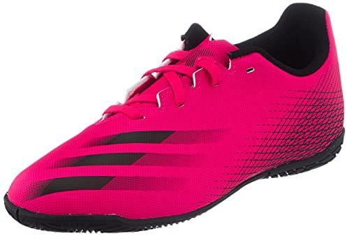 adidas X GHOSTED.4 IN J, Zapatillas de fútbol, ROSSHO/NEGBÁS/NEGBÁS, 34 EU
