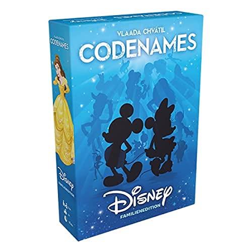 Czech Games Edition CGED0049 Asmodee Codenames Disney Familienedition, Kartenspiel, Ratespiel, Deutsch