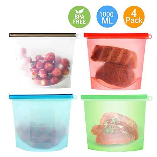 Bolsa Alimentos, Reutilizables Envase Bolsas Preservación