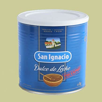 Amazon.com: San Ignacio Dulce D/ Leche (caramel spread)Lata (metal cans) 4X1KG.: Everything Else