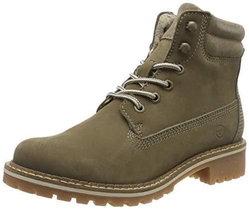 Tamaris Damen 1-1-25242-23 Combat Boots, Braun (Taupe 341), 38 EU
