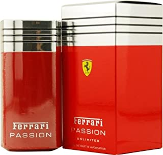 Ferrari Passion Unlimited By Ferrari For Men. Eau De Toilette Spray 3.3 Oz.