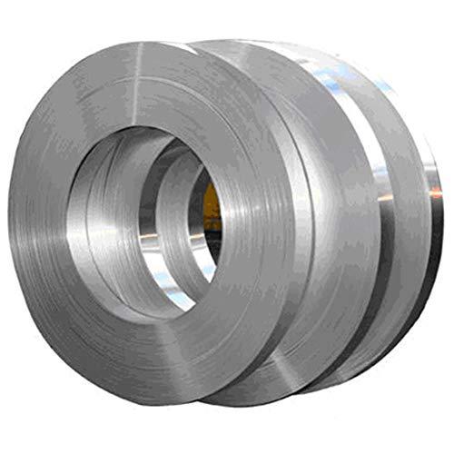 Hochreine 1060 Aluminiumfolie, reines Aluminiumband, korrosionsbeständig, Länge: 5 m (Dicke: 1,0 mm, Breite: 20 mm)