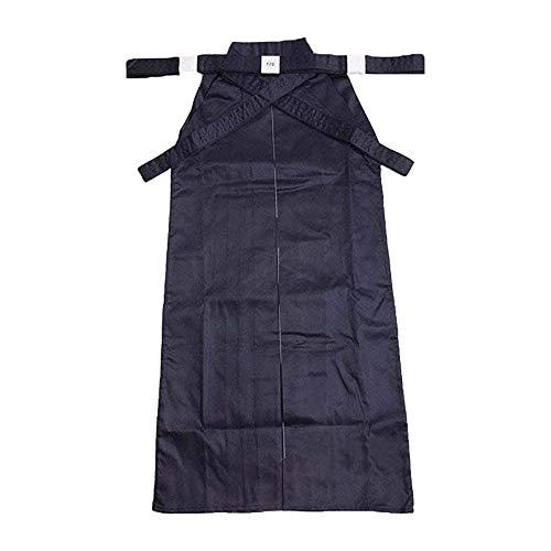 G-like Kampfsport Kendo Kenjutsu Uniform - Traditionelle Japanische Schwertkampfkunst Kostüm Karate Ninja Aikido Training Kleidung Keikogi Jacke Hakama Hose für Männer Frauen (Blue, XXL)