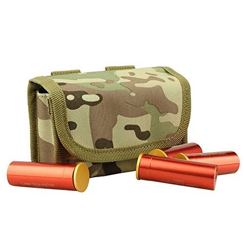 Gexgune Tactical 10 Rounds Funda de Molle para Funda de Cartucho para 12 Gauge / 20G Magazine Ammo Cartucho Redondo Tactical Pouch
