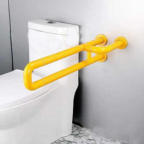 BaoYPP Servizi igienici di Sicurezza Frames Braccioli di Sicurezza, Supporti igienici a Forma di U, Pista, Bagno Sedile di Sostegno, Adatto a Persone Speciali per la stabilità e Il Controllo