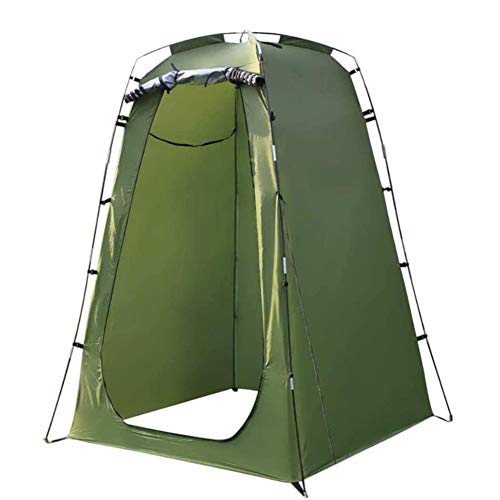 fengicon Camping Toilet Shower Tent Camping Shower 47.2x47.2x72.8in With Fiberglass Rod For Privacy Tent Camp Toilet