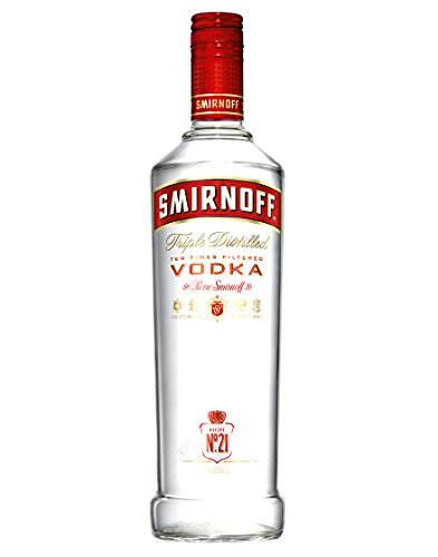 Vodka n. 21 Red Label Smirnoff 0.7 l