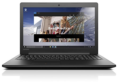 Lenovo ideapad 310 39,62cm (15,6 Zoll Full HD Glare) Laptop (Intel Core i5-7200U, 3,1GHz, 8GB RAM, 1TB HDD + 128GB SSD, Intel HD Grafik 620, Windows 10 Home) schwarz
