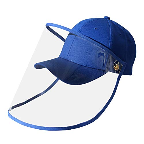 fancyfree Adjustable Hook Cap with Removable Transparent TPU Cover, Multiple Baseball Hat for Men and Women (Black)