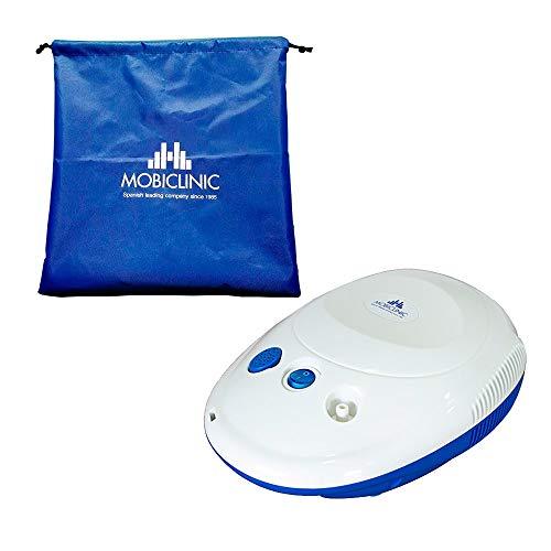 Mobiclinic, Neb-1, Mini Nebulizador compresor, Blanco y azul
