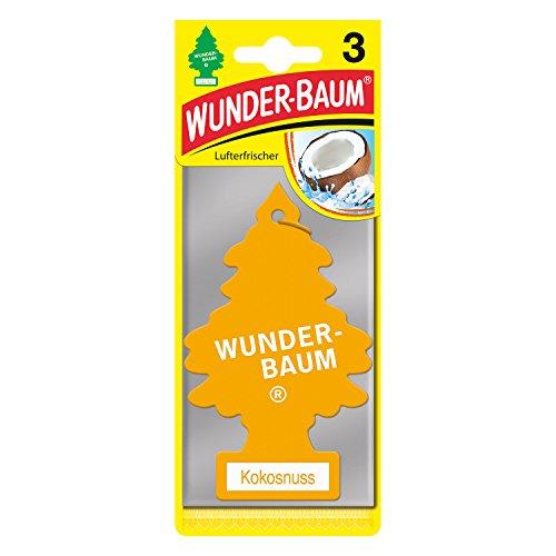 Wunderbaum 171204 Kokosnuss, 3-er Pack