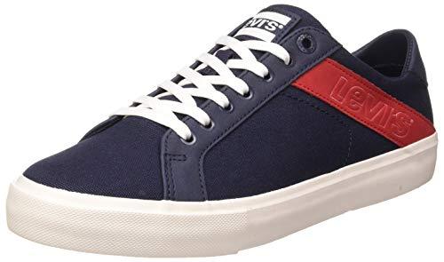 Levi's Woodward L, Zapatillas Hombre, Azul Sneakers