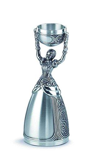 Artina Becher, Zinn, Silber, 16 cm