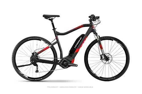 HAIBIKE Sduro Cross 2.0 Damen Trekking Pedelec E-Bike Fahrrad schwarz/rot 2019: Größe: M