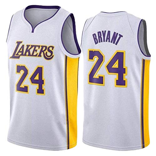 BJZX Laker # 24 Bryant, chaleco deportivo sin mangas, suave, transpirable, entrenamiento al aire libre, fitness, unisex, XL