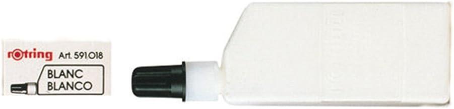 Rotring (S0216550) Isograph frasco de tinta de 23ml, blanco