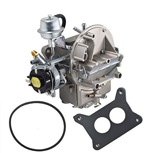 AISENPARTS Carburador de 2 barriles Carb 2100 A800 de repuesto para motor Ford 289302351 Cu Jeep con estrangulador eléctrico 1964-1978