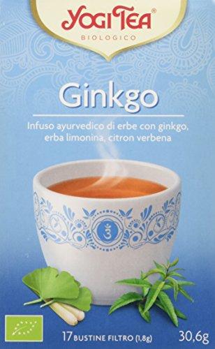 Yogi Tea Ginkgo - 17 Bustine Filtro [30.6 gr]