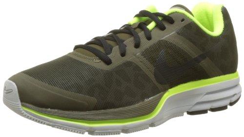 Nike, Scarpa Air Pegasus+ 30 Shield, Sneaker, Uomo, Nero (Dark Loden/Black-Volt-PR PLTNM), 44