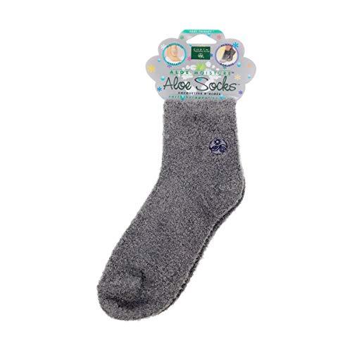 Earth Therapeutics Aloe Socks - Grey 1 Pack(S)