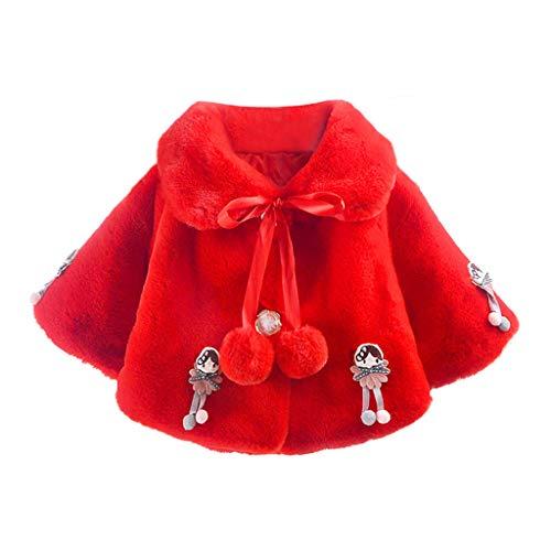 YWLINK Abrigo De Capa CáLida De Bebé 12 Meses-4 AñOs Beb�