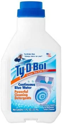 PACK OF 2021 new 12 - Ty-D-Bol Clean You Can See P Directly managed store Blue Continuous Water