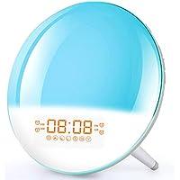 Corlitec Smart Wake Up Bedside Night Light Supports WiFi Alarm Clock