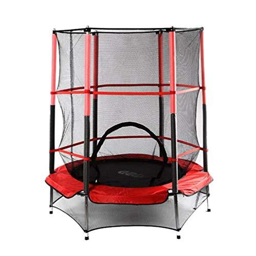 RY-Trampo Peuter Trampoline, Huishoudelijke Kinderen Binnen Springen Afvallen Bouncers Bouncing Bed Met Beschermend Netto Elastische Touw