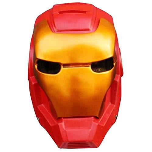Towel Rings Mscara De Iron Man, Casco De Los Vengadores, Nios Adultos, Accesorios De Halloween, Juguetes, Mscara De Cosplay, Mscara De Superhroe De Iron Man, Talla nica