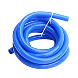 WISAUTO Blue Color Thickness 0.12''(3mm) High Temperature Silicone Vacuum Tubing Hose ID:0.24''(6mm), OD:0.48''(12mm), 10FT(3M)